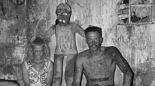 Roger Ballen and Die Antwoord: I Fink U Freeky series