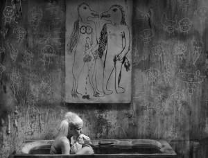 Bath scene, 2012