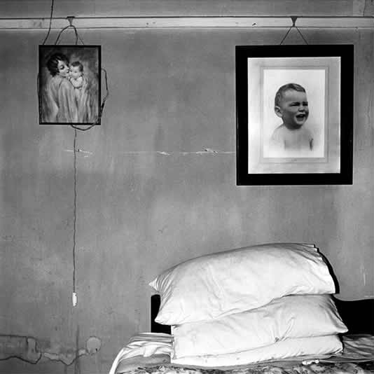 Bedroom, Nieu-Bethesda, 1985