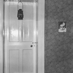 Bedroom door, Bethanie, 1983