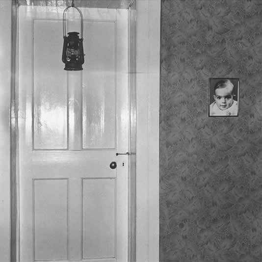 Bedroom door, Bethanie, 1983