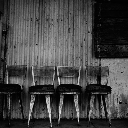 Chairs, Asian bazaar, 1984