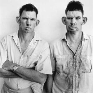 Dresie and Casie, twins, Western Transvaal, 1993