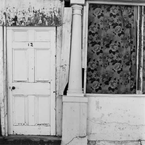 Front door, Hopetown, 1983