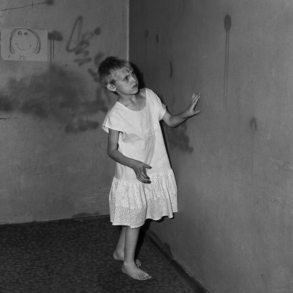 Girl in white dress, 2002