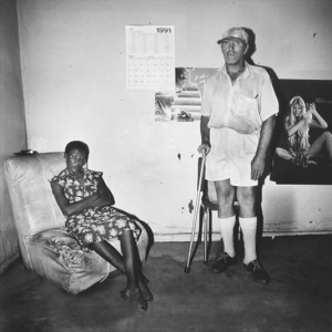 Man and maid, Northern Cape, 1991