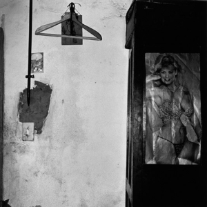 Pensioner's bedroom, Hopetown, 1984