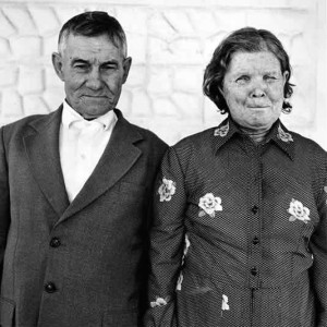 Prison warder and wife, Southern Transvaal, 1986