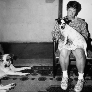 Woman and dogs, Orange Free State, 1994