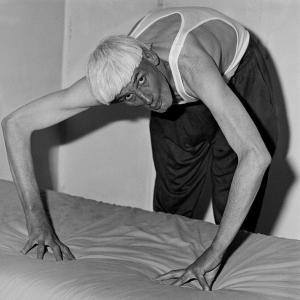 Man bending over, 1998