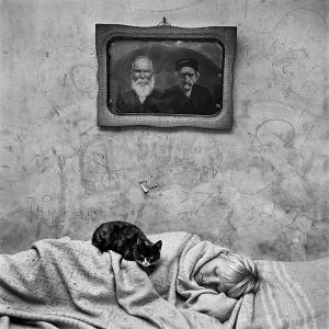 Portrait of sleeping girl, 2000