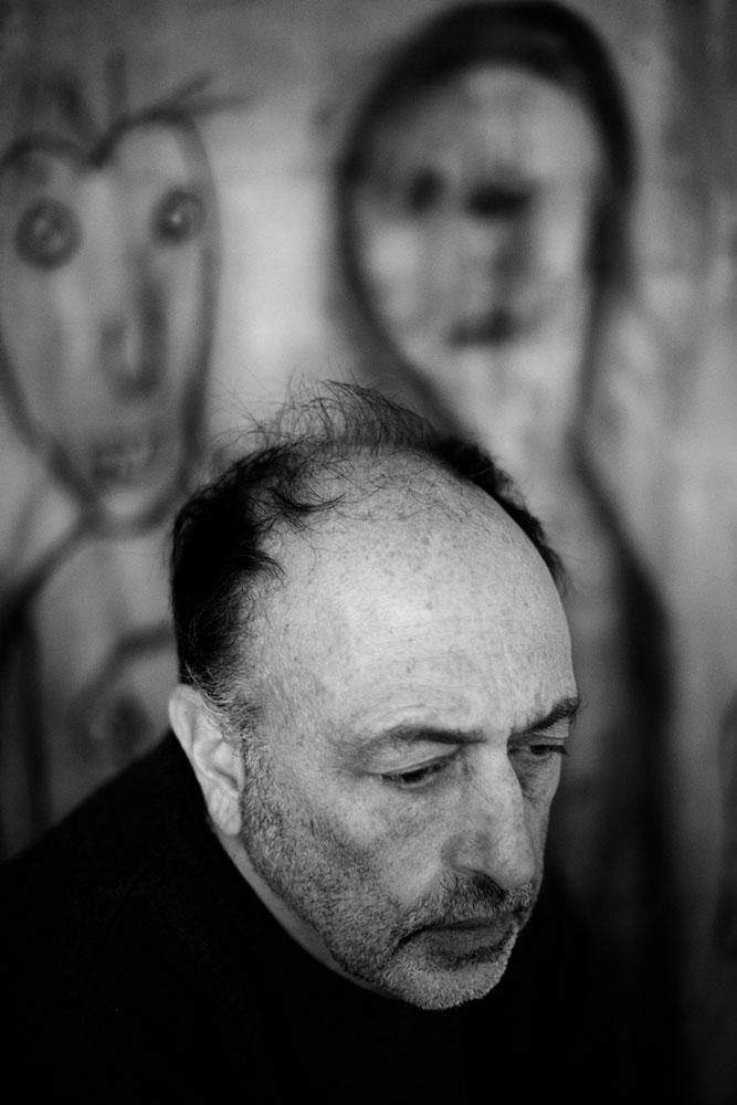 Roger Ballen. Portrait by Marguerite Rossouw.