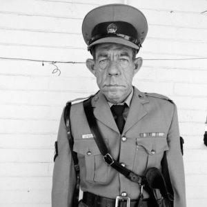 Sgt F de Bruin, Dep of Prisons Employees, OFS, 1992